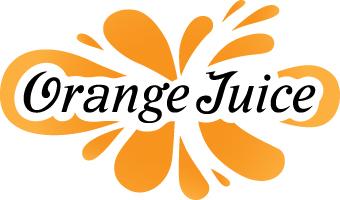 Orange Juice Logo.