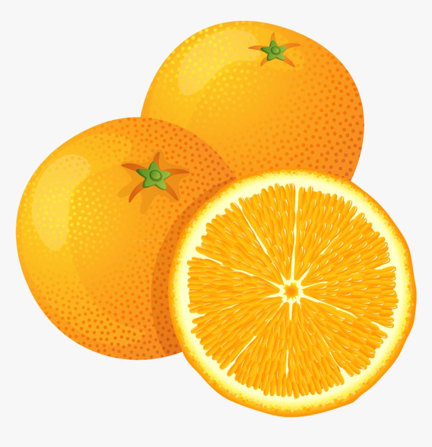 Orange Fruit Transparent Background.