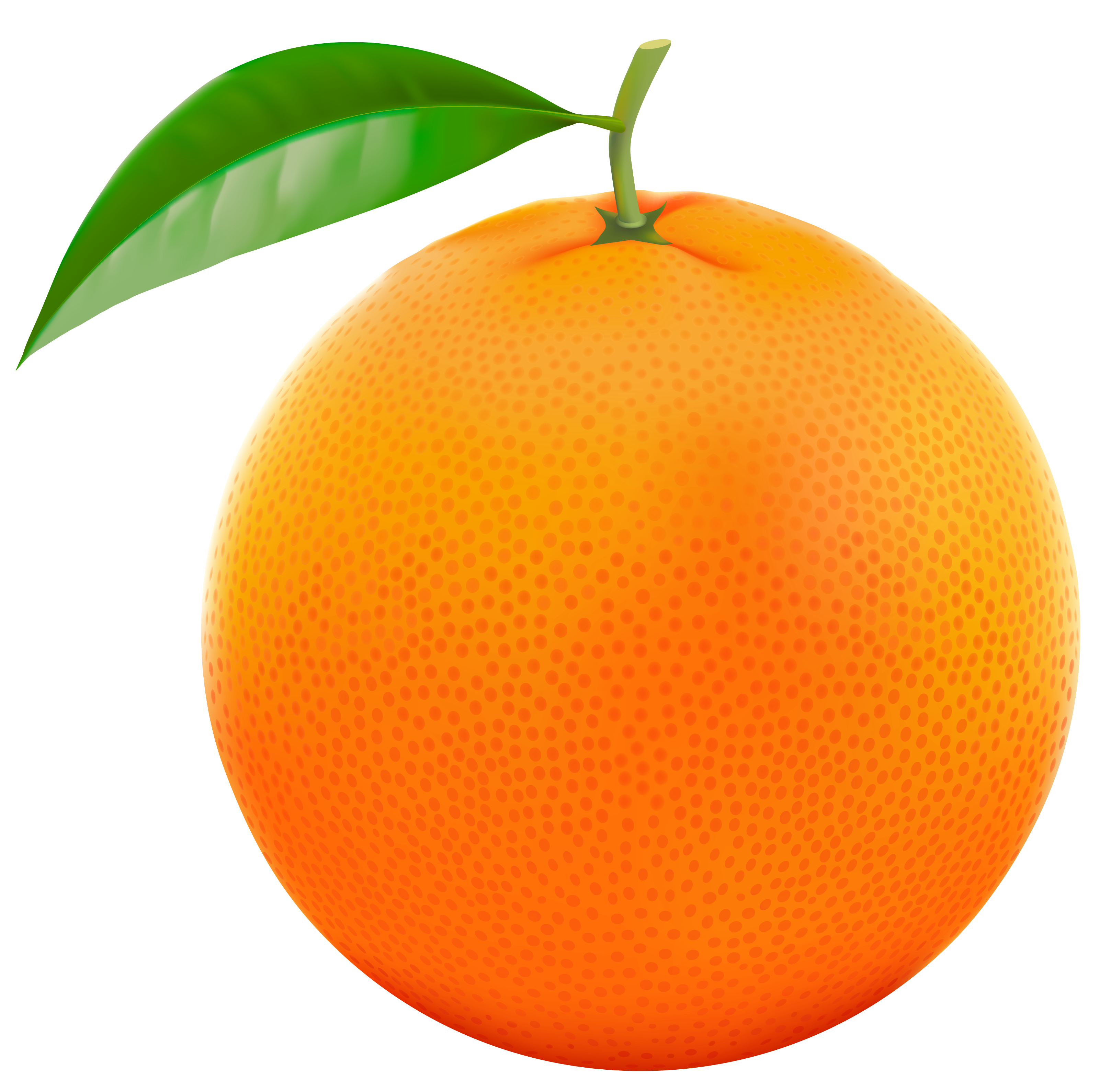 Red Orange PNG Vector Clipart Image.