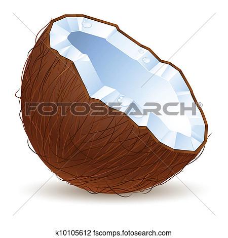Clipart Coconut.