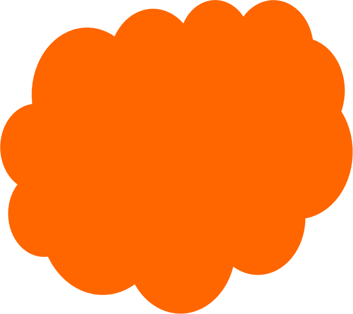Color orange clipart.