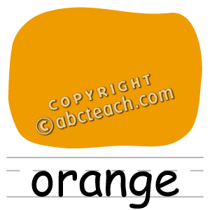 Clipart Color Orange.