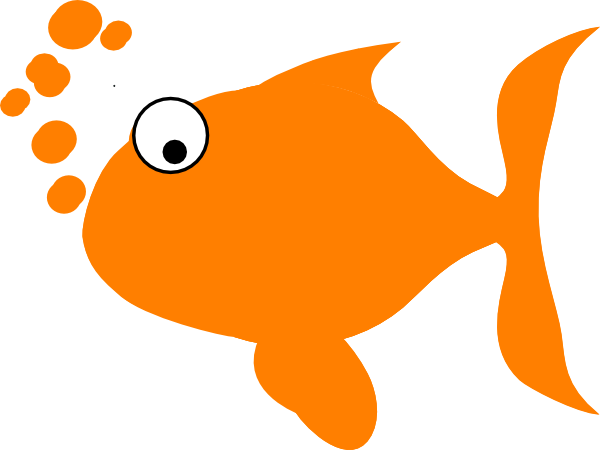 Orange color clipart.