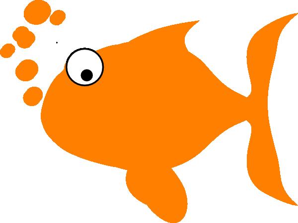 Orange color clipart.