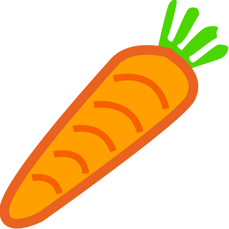 Things That Are Orange Color Clipart.