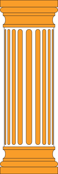 Orange Column Clip Art at Clker.com.