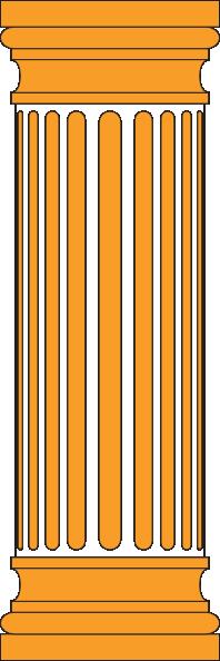 Orange Column Clip Art at Clker.com.
