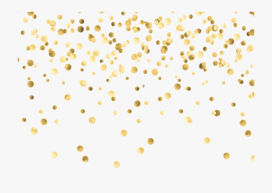 Confetti Wallpaper, Confetti Background, Gold Background.