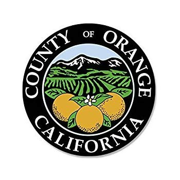 Amazon.com: MAGNET ROUND Orange COUNTY California Seal.