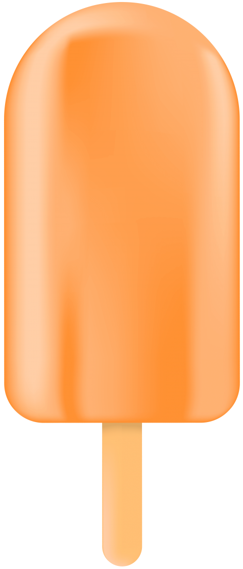 Download Ice Cream Bar Orange Clipart Pn #166135.