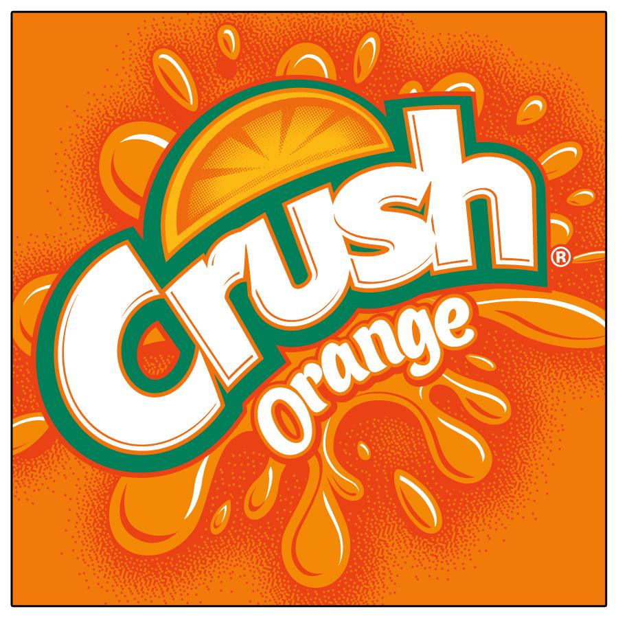 Orange crush Logos.