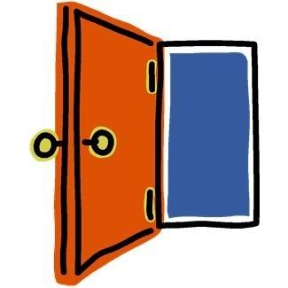 Doors clipart and open door clip art 2.