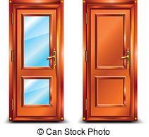 Cartoon Door Clipart.