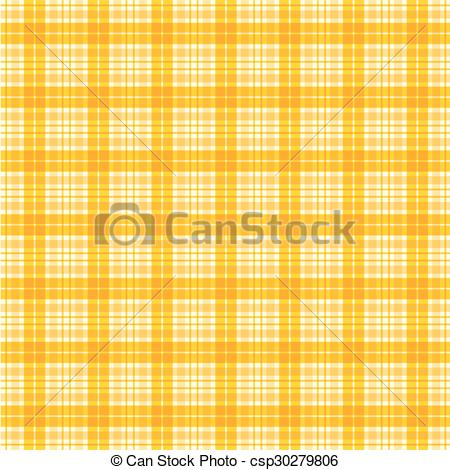 Vector Clipart of fabric orange, loincloth texture, background.