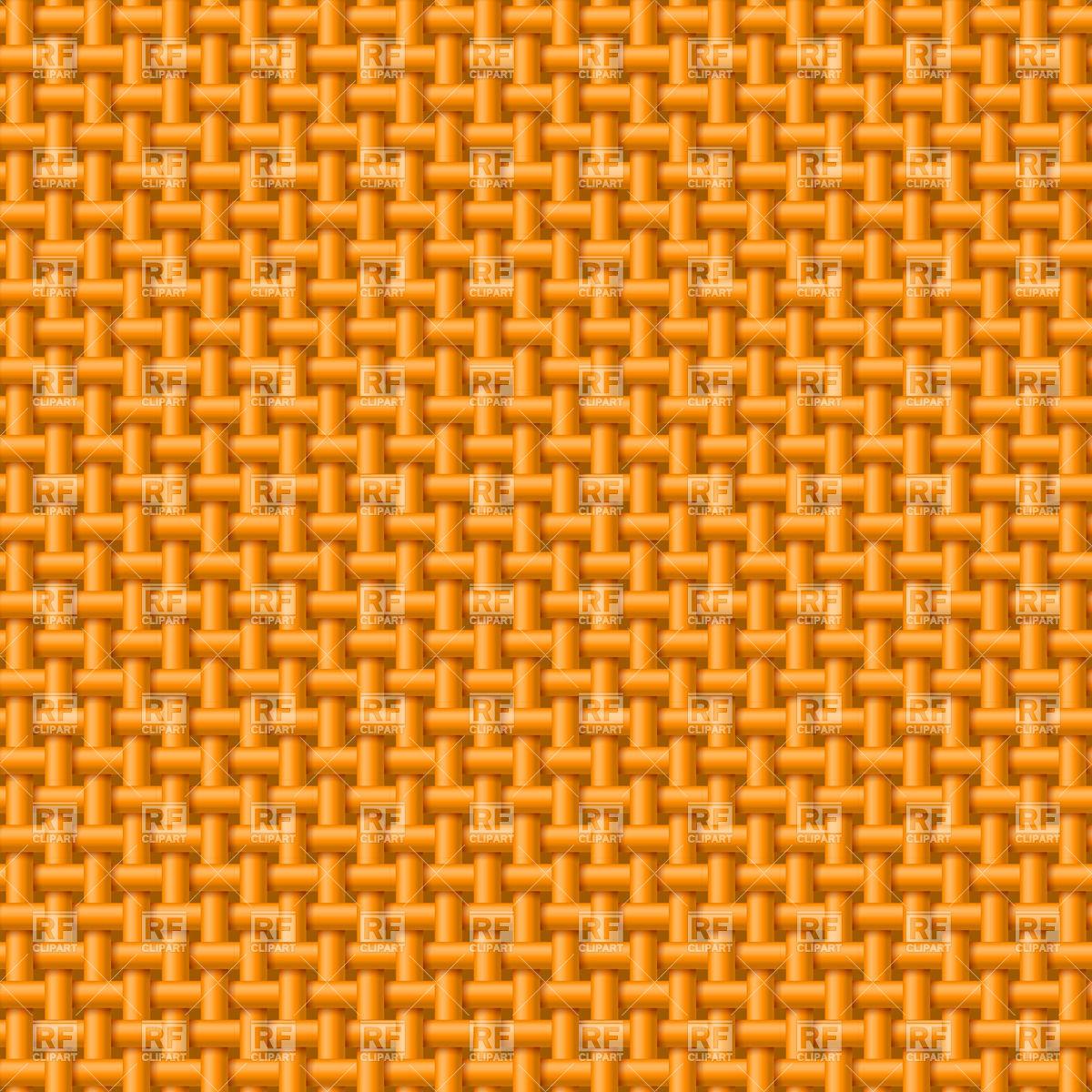 Seamless pattern of orange cloth.