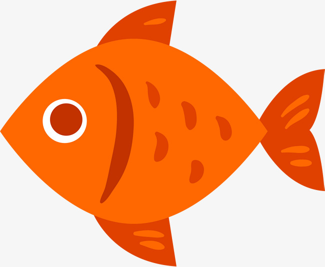 Orange fish clipart » Clipart Station.