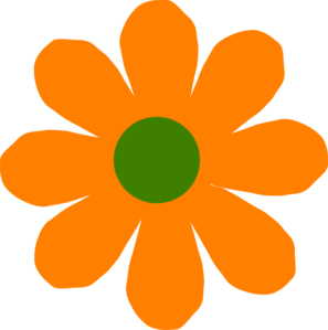 Watch more like Orange Blossom Flower Clip Art.