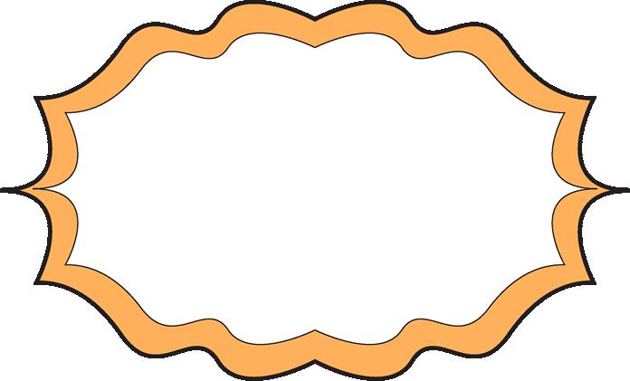 Fancy Orange Frame.