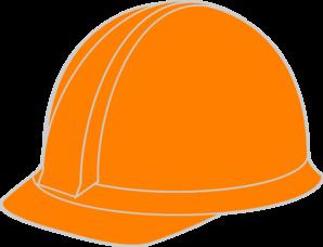 Orange Hard Hat Clip Art at Clker.com.
