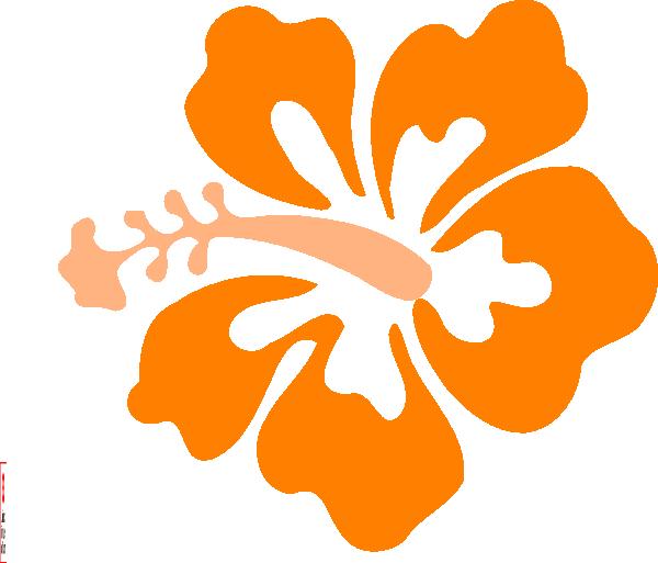 Coral Hibiscus Clip Art at Clker.com.