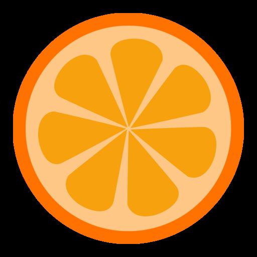 Orange, player Icon Free of The Circle Icons.