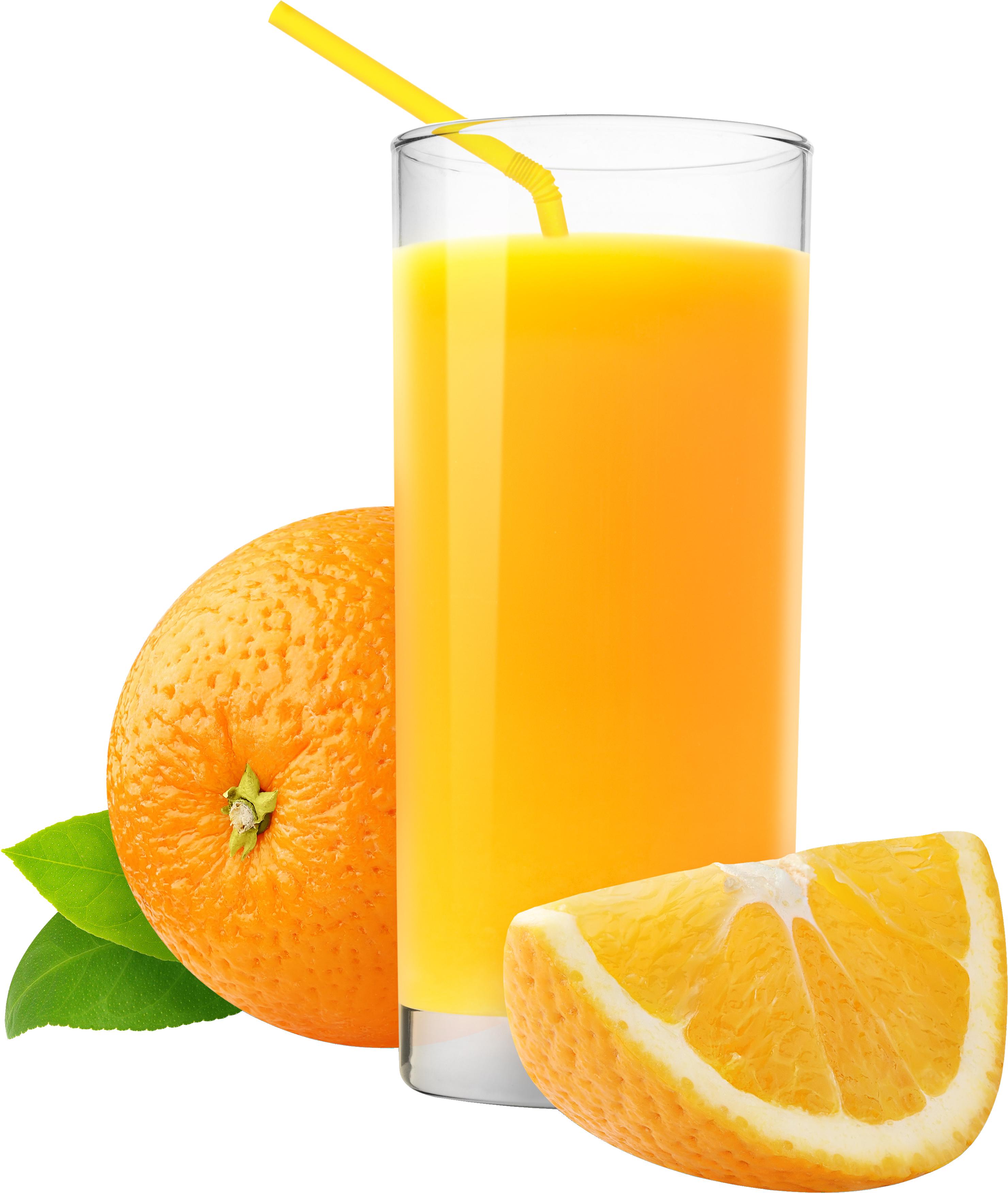 Orange Juice PNG Image.