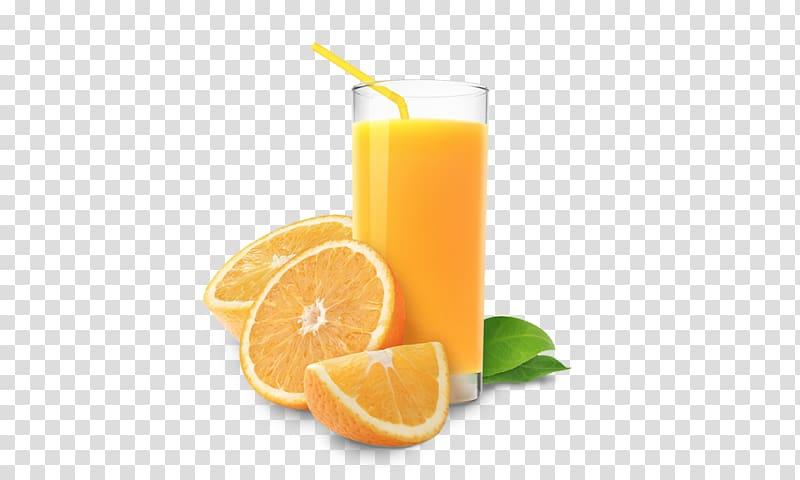 Yellow citrus juice, Orange juice Cocktail Tea Breakfast.
