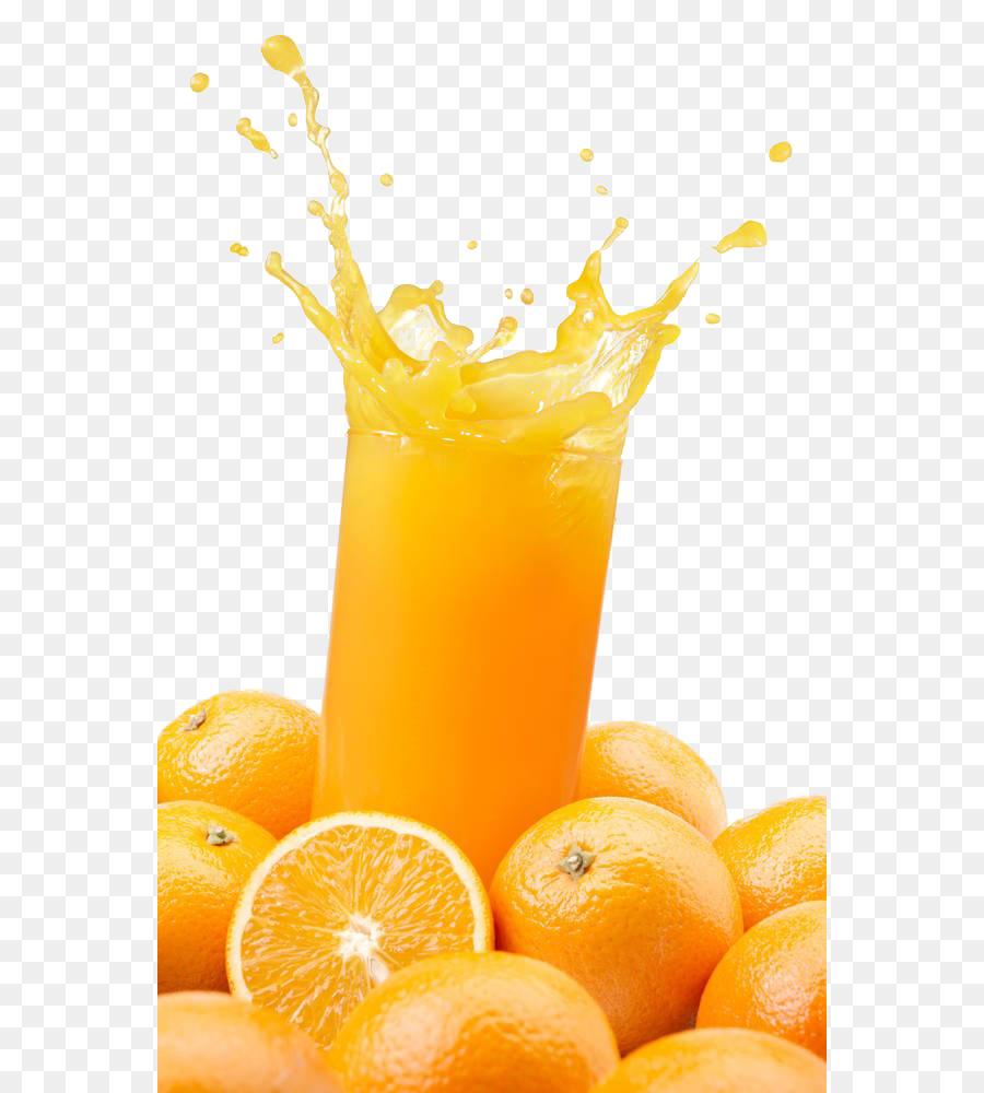 Orange Juice Cocktail Smoothie.