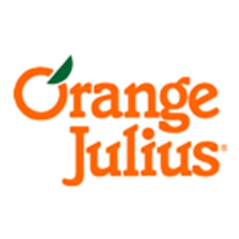 Orange julius Logos.