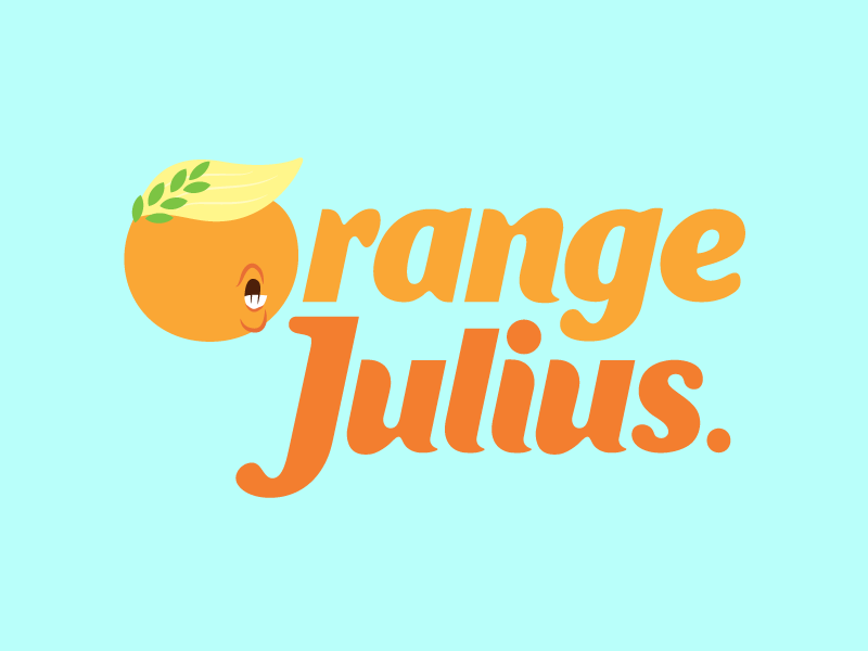 Orange Julius. by Nick Simson on Dribbble.