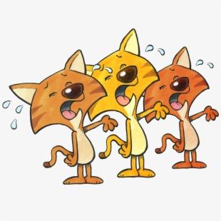 Kittens Clipart Orange Kitten.