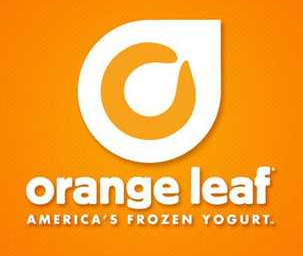 Orange Leaf Frozen Yogurt.