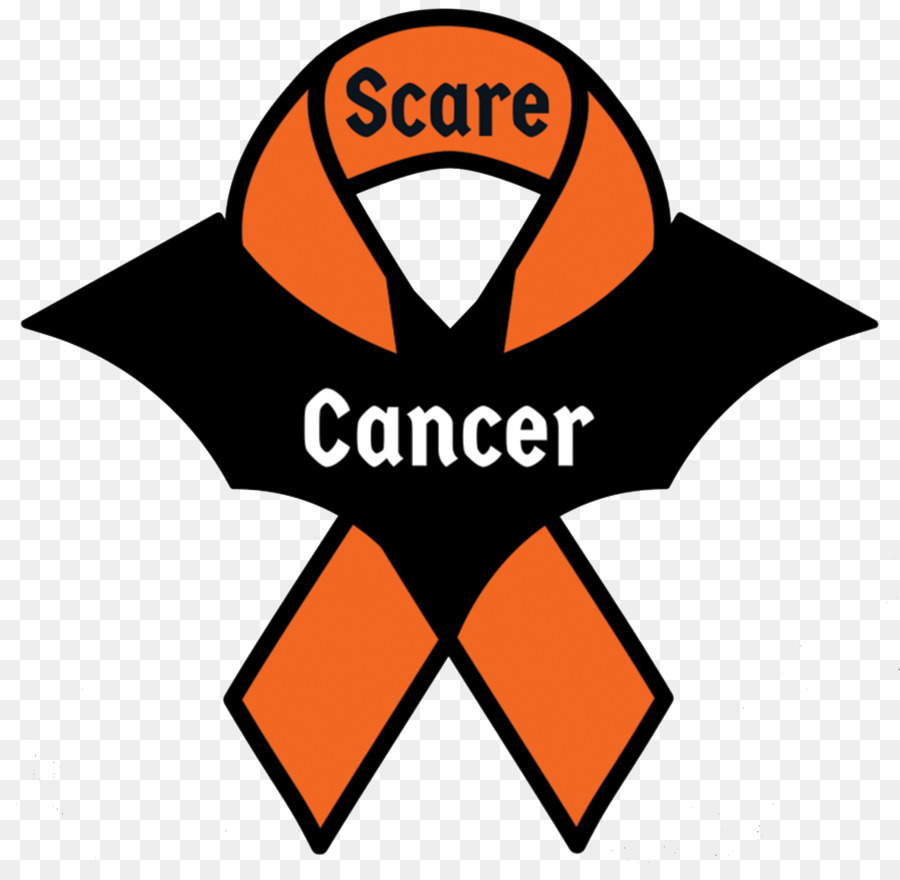 Awareness ribbon Orange ribbon Leukemia Cancer.
