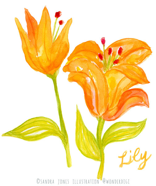 Items similar to Watercolor Clipart.