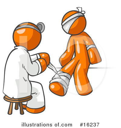 Orange Man Clipart #16237.