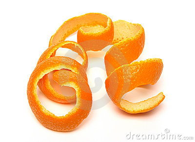 Orange peel clip art.