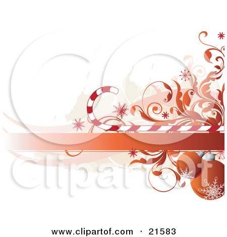 Clipart Illustration of a Red.