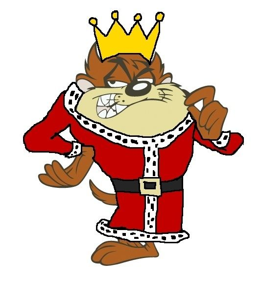 King Tasmanian Devil.