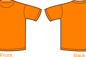 Orange shirt clipart 1 » Clipart Portal.