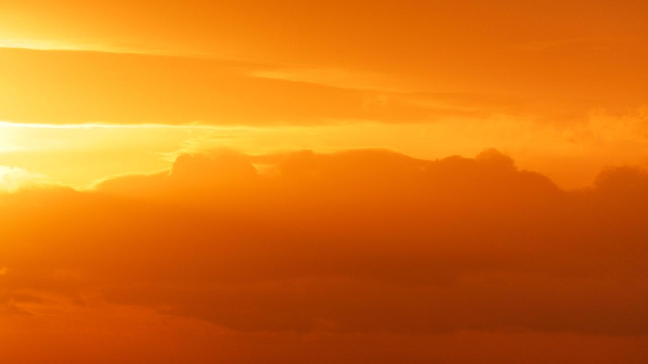 Orange Sky.