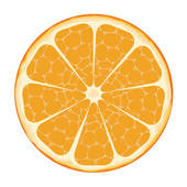 Orange Slices Clipart.