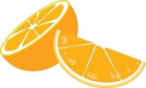 Orange Slice Clipart.