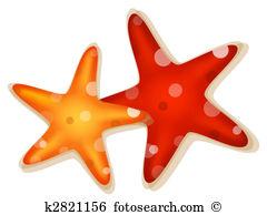 Orange starfish Illustrations and Clipart. 76 orange starfish.