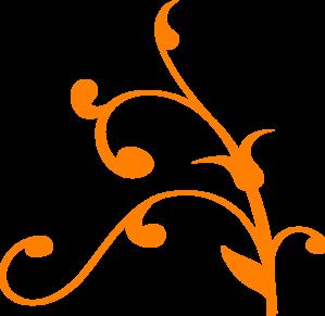 Orange Swirl Thing Clip Art at Clker.com.