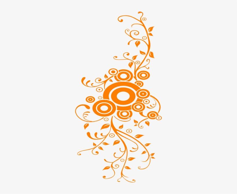 Swirl Clipart Orange.