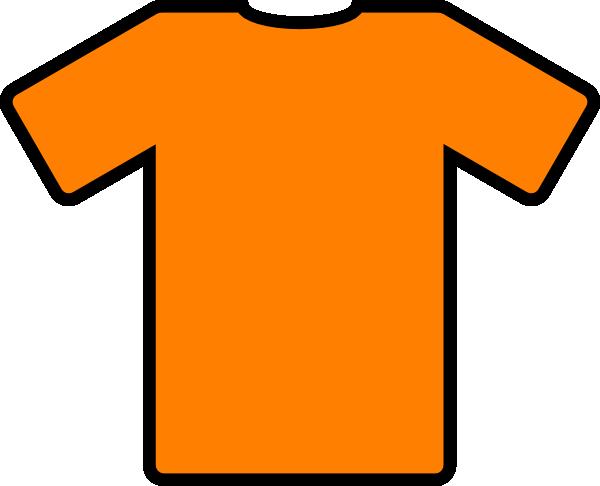 Orange Tshirt Clip Art at Clker.com.