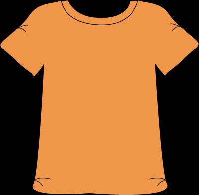 Orange Tshirt.