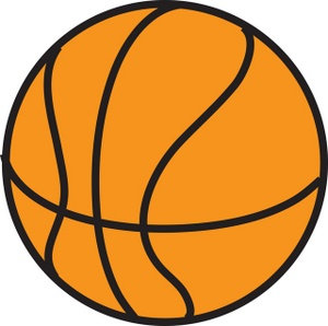 Free vector graphic basketball orange clipart rubber free image #294.