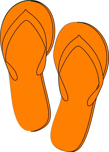 0 orange clip art.