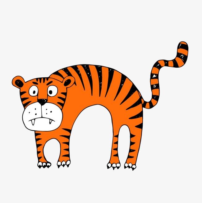 Orange tiger clipart 2 » Clipart Portal.